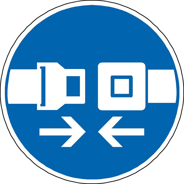 zapnutí bezpečnostních pásů