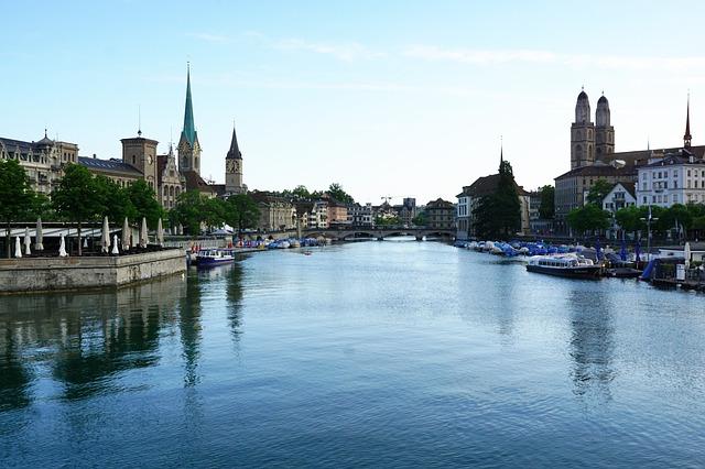 město v Evropě