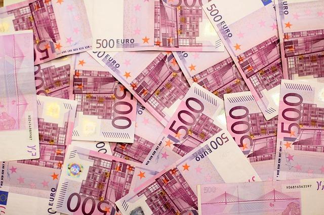 padesátieurové bankovky