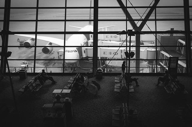 Čekání na letadlo