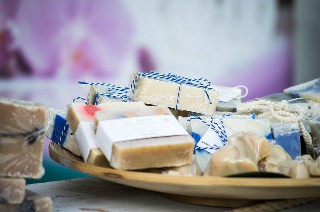Ručně vyráběná mýdla