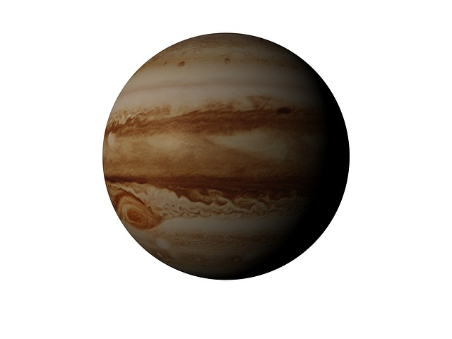 Jupiter v opozici na severní lunární uzel